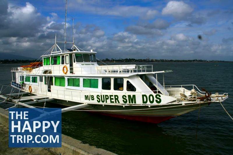 the motorized boat from Cadiz City