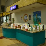 Arrival area at Silay Airport