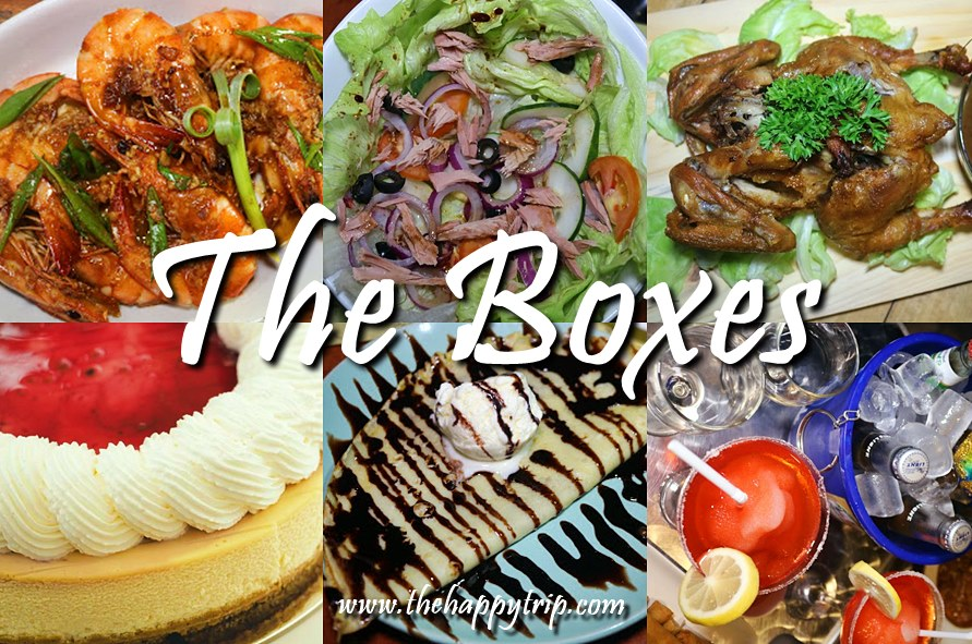 THE BOXES | BACOLOD RESTAURANTS, BARS, PASTRY SHOPS