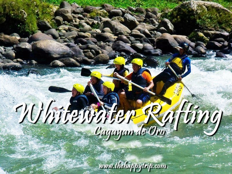 WHITEWATER RAFTING | CAGAYAN DE ORO + TRAVEL GUIDE