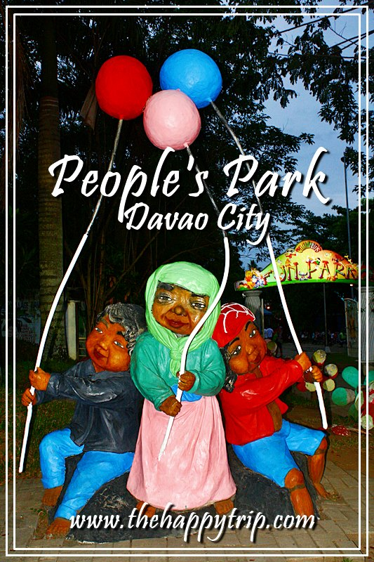 PEOPLE'S PARK, DAVAO CITY: A SHOWCASE OF CULTURAL HERITAGE
