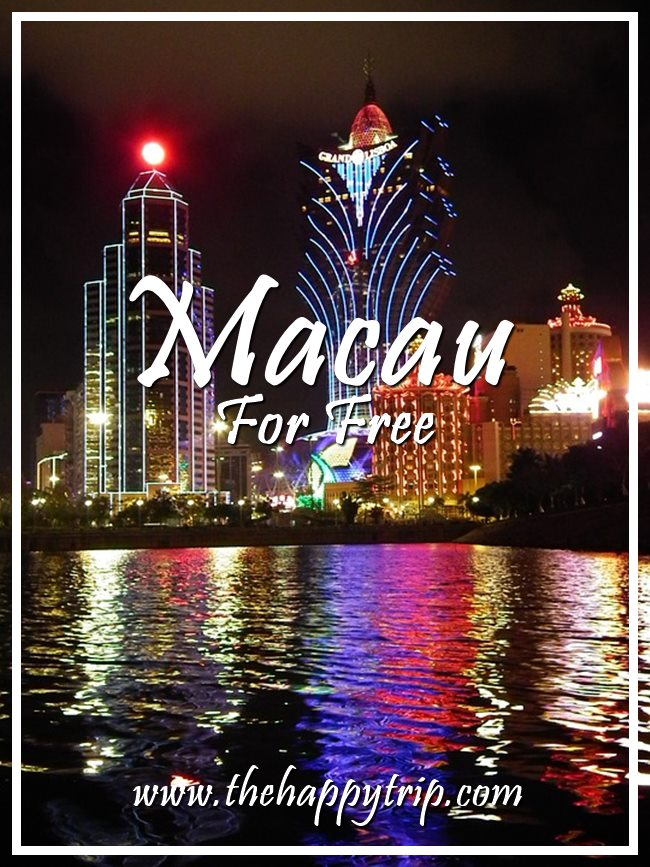 MACAU TOUR FOR FREE | TOURIST ATTRACTIONS