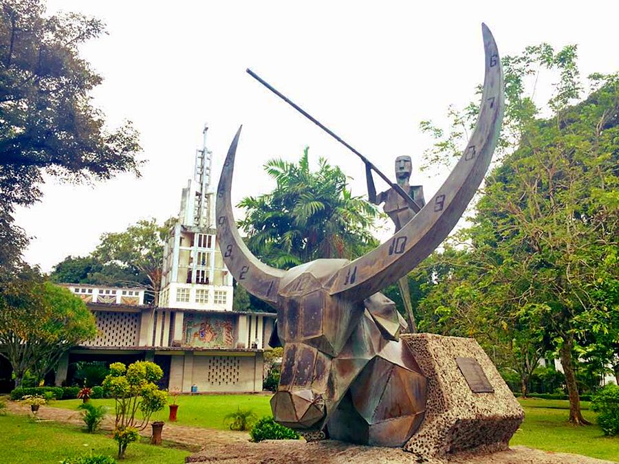 CHURCH OF THE ANGRY CHRIST | VICTORIAS, NEGROS OCCIDENTAL TOURIST ATTRACTION