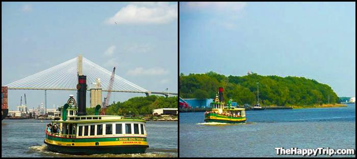 Riverboat Tours in Savannah, Georgia