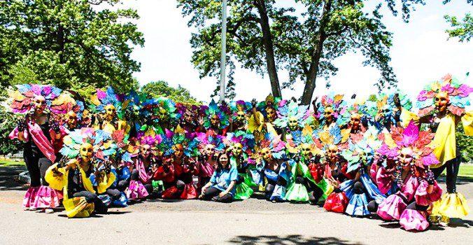 The 2013 Bacolod Masskara Festival Dancers Photo by Arlene Hilado Brigid Tan is the chair of the New York MassKara dancers. The other dancers are Caroline Aguilar-Hinlo, Eden de la Cruz-Oyco, Arlene Hilado, Cristina dela Tina-Rosa, Rachel Montes-Robles, Gloria Guanzon-Palawar, Darlene Ordog, Lani Cuenca, Candy Genovea-Wagner, Glecy Bingcang-Hermogenes, Liza Benares, Normita Weisberg, Liberty Manzano, Cires de la Cruz, Yvonne Calansingin-Barcinal, Radjilyn Gallo-Nifras, Moonyen Dorliac-Hilado, Christie Su, Sheila Maravilla, Joy Canada-Gonzales, Girlie Montecino, Susan Vergara-Lirazan, Susan Arangote, Susan Banzuela, Jessel de la Cruz, Adelfa Degala, Ross Sayson, Christine Sy, and Milag Torres.