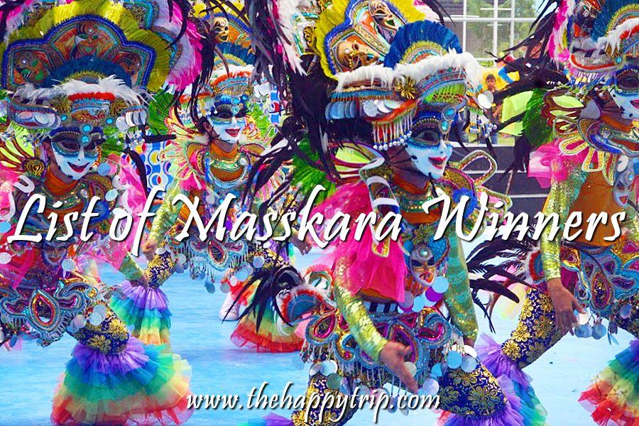 MASSKARA FESTIVAL DANCE WINNERS | STREET , ARENA WINNERS