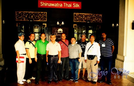 The Shinawatra Thai Silk Factory