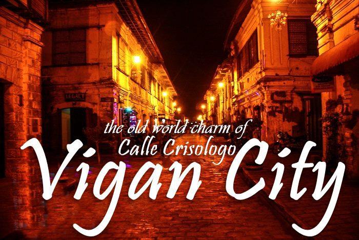 CALLE CRISOLOGO + DANCING FOUNTAIN | VIGAN