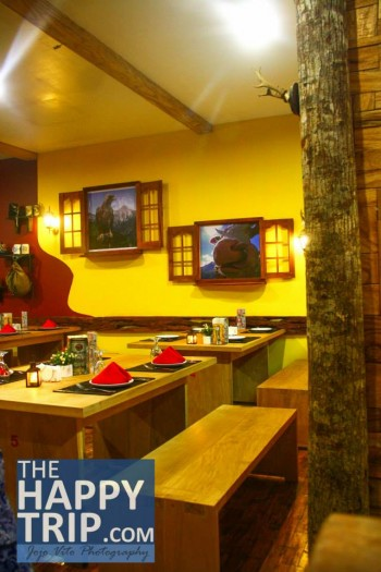 Dining at Tyrol