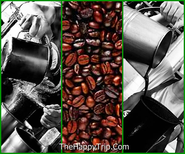 traditional brewing of cofee