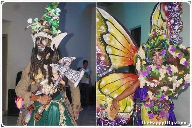 2nd and 3rd place winner fantasy costume
