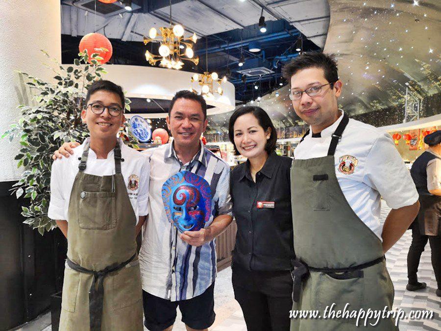 jojo vito with the chefs