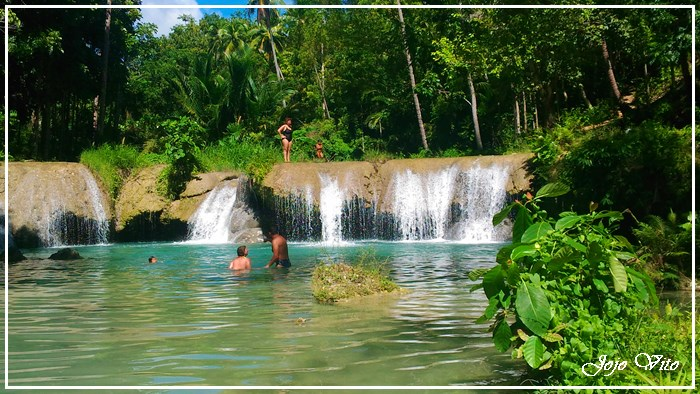 SIQUIJOR TOURIST ATTRACTION : CAMBUGAHAY FALLS