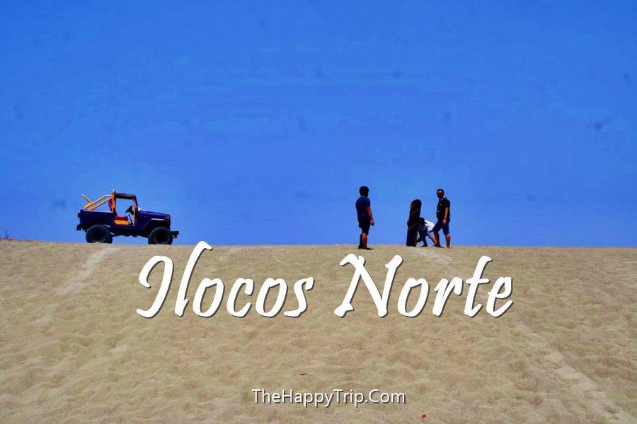 ILOCOS NORTE TOURIST SPOTS + Itinerary, Hotels