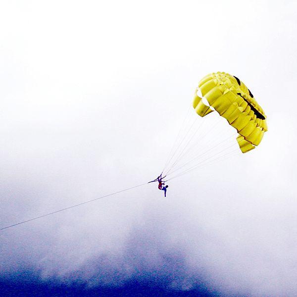 Maldives Trip : parasailing -by-badr-naseem