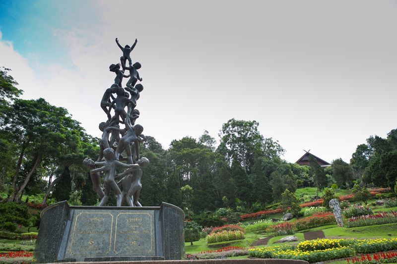 DOI TUNG ROYAL VILLA AND MAE FAH LUANG GARDEN