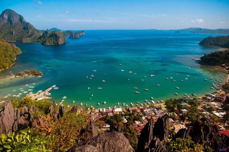 TARAW CLIFF | EL NIDO | SUMMER GETAWAY