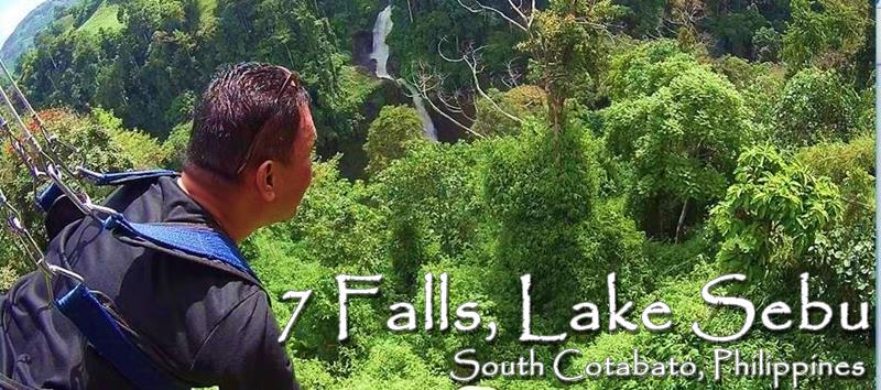 Zipline and See the 7 Falls of Lake Sebu