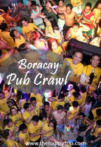 BORACAY PUB CRAWL