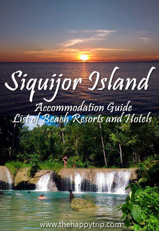 SIQUIJOR RESORTS,HOTELS | ACCOMMODATION GUIDE