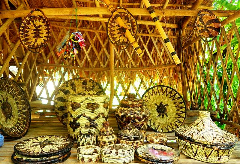 Basketry by the Iraya Mangyan of Mindoro