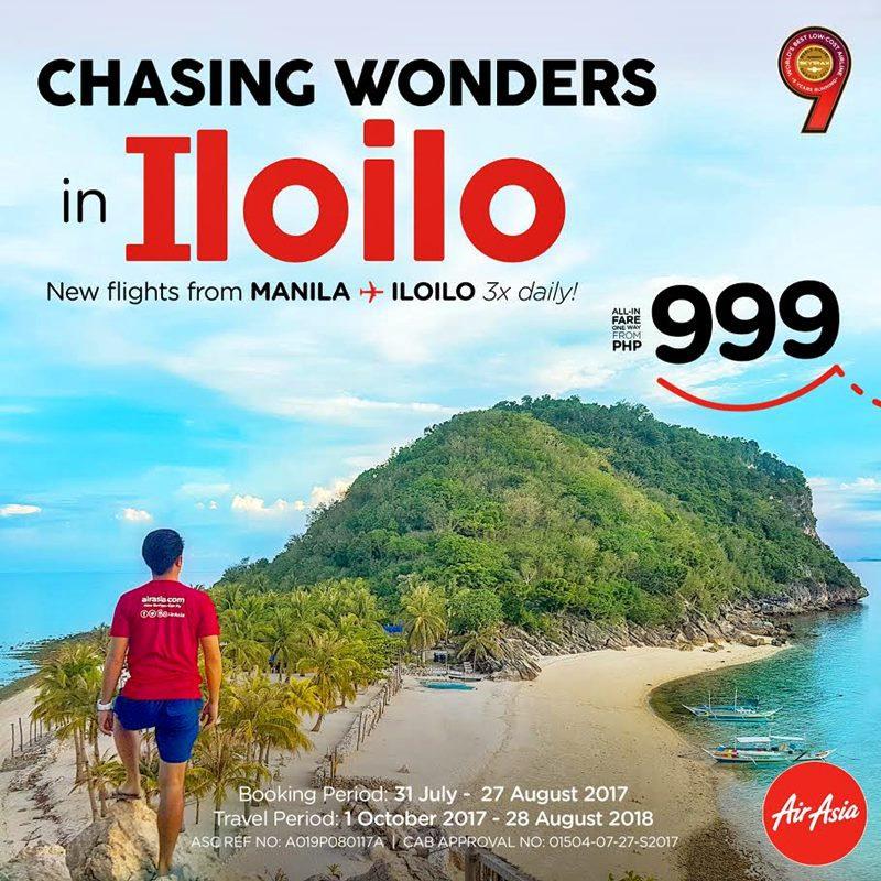 MORE REASONS TO VISIT ILOILO | MANILA-ILOILO THREE FLIGHTS DAILY |AIR ASIA