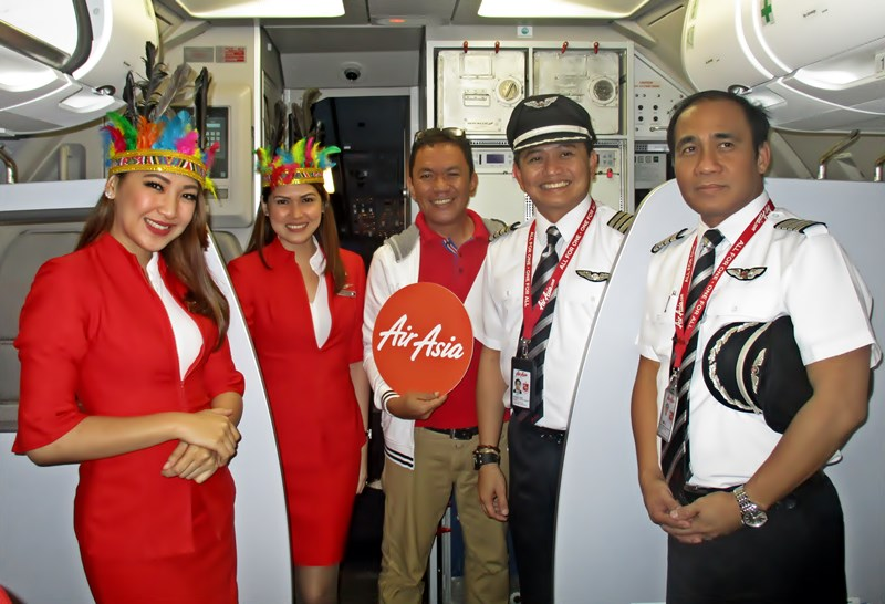 Jojo Vito at Air Asia