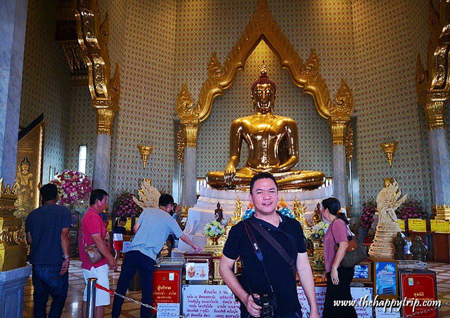 Jojo Vito at the Golden Buddha
