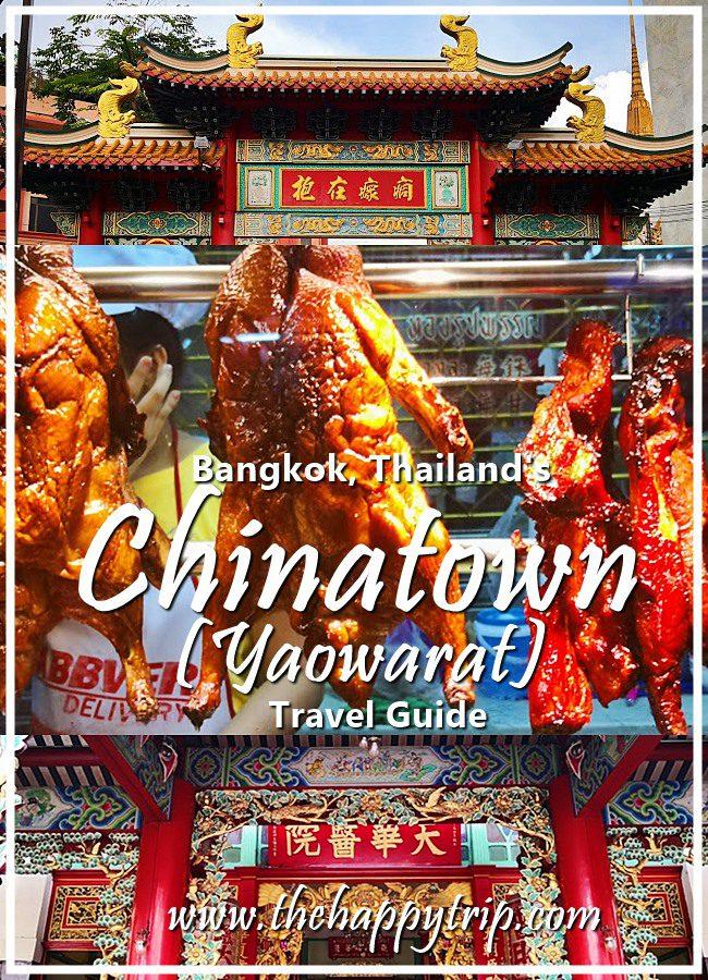 CHINATOWN/YAOWARAT, BANGKOK, THAILAND TRAVEL GUIDE | THINGS TO DO, BUDGET, ITINERARIES