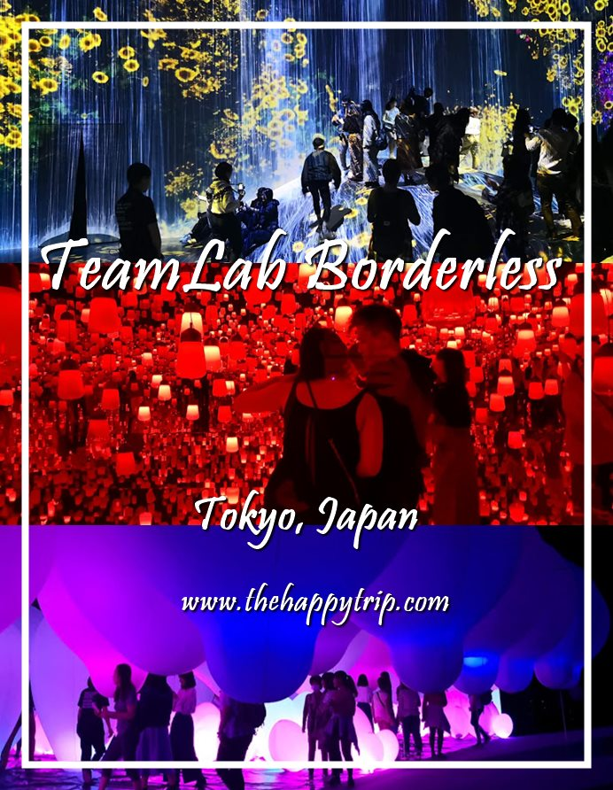 TEAMLAB BORDERLESS | TOKYO, JAPAN ATTRACTION