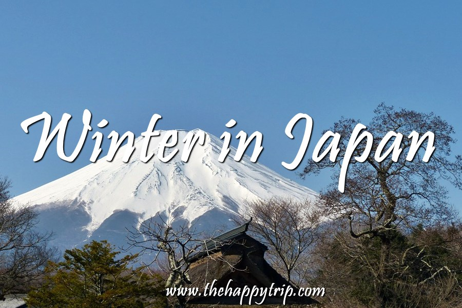 EXPERIENCE WINTER IN JAPAN