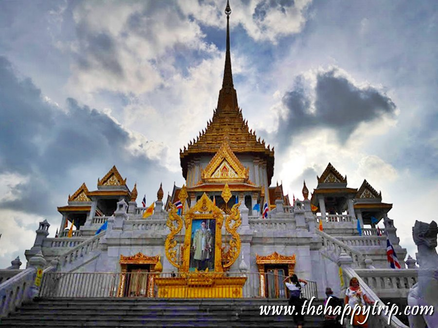 THE GOLDEN BUDDHA | BANGKOK TOURIST ATTRACTION