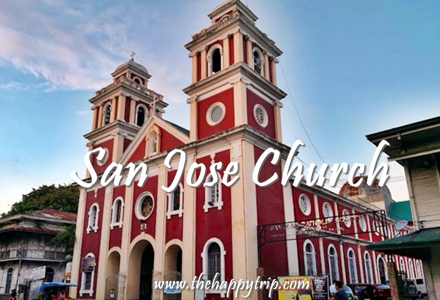 SAN JOSE CHURCH, ILOILO | SCHEDULE OF MASSES