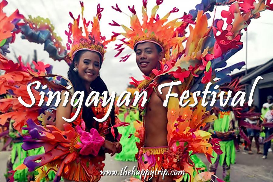 SINIGAYAN FESTIVAL SCHEDULE OF ACTIVITIES | SAGAY CITY, NEGROS OCCIDENTAL