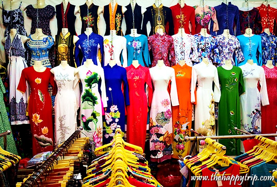 saigon traditional dresses