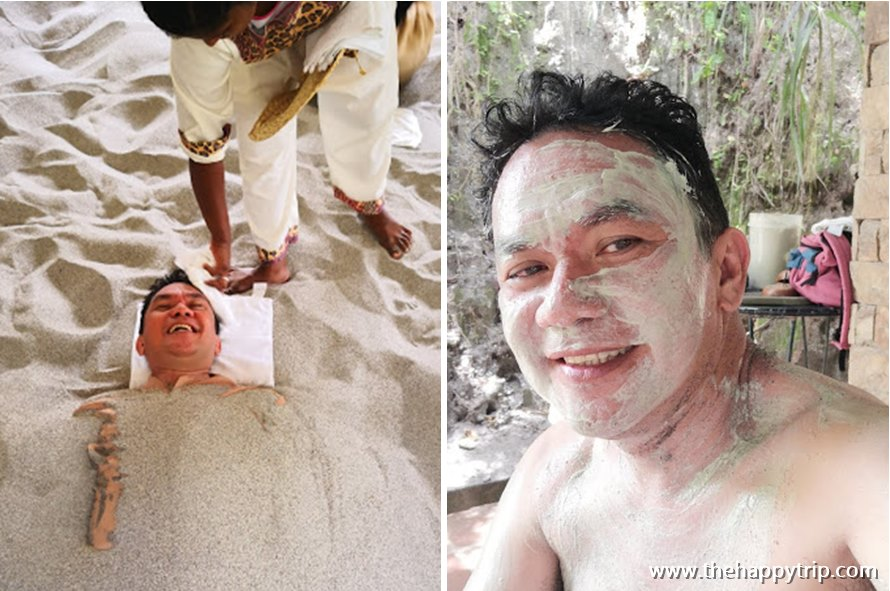 sand spa and mud pack