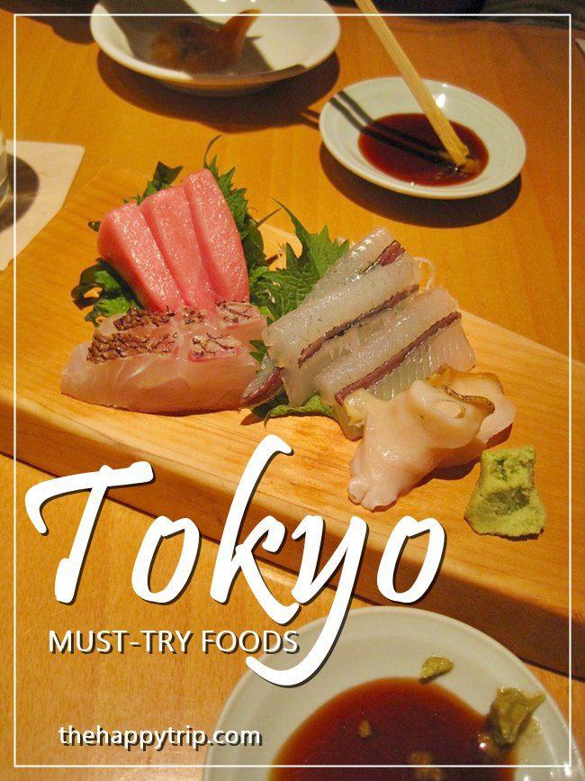 MUST-TRY FOODS IN TOKYO, JAPAN