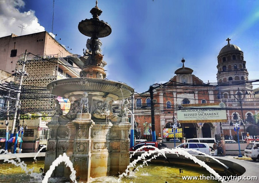 Carriedo Fountain
