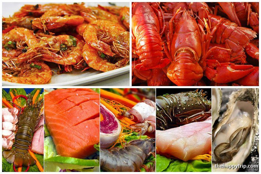 seafood offerings