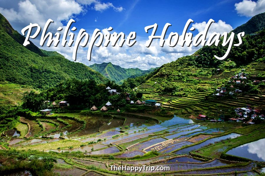 2020 PHILIPPINE HOLIDAYS + THINGS TO DO