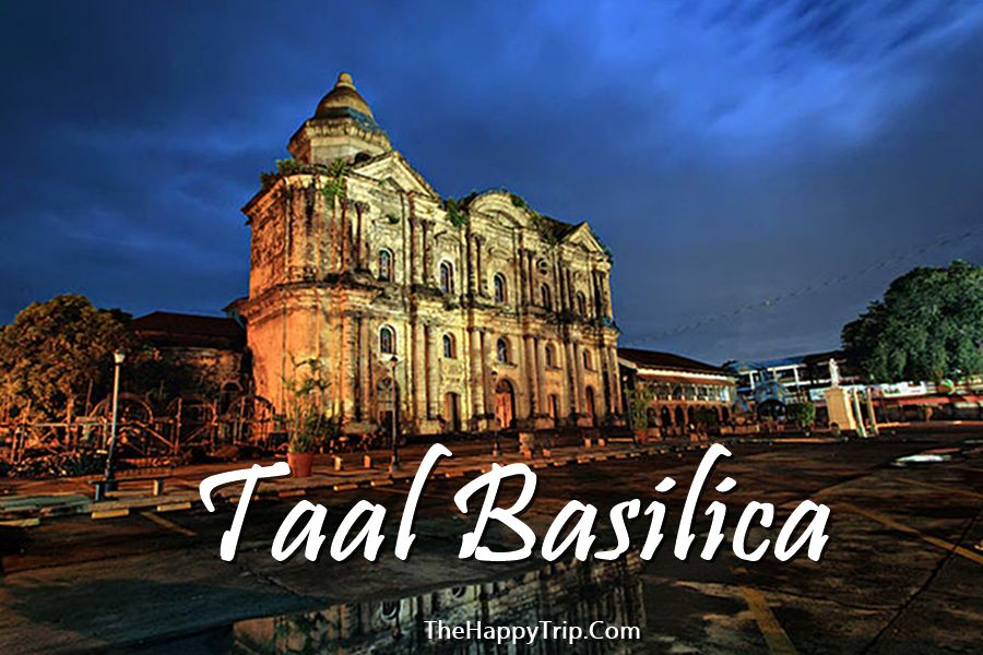 TAAL BASILICA | MASS SCHEDULE | BATANGAS