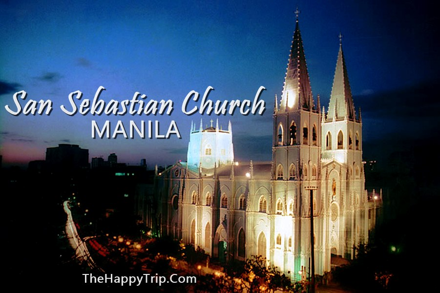 San Sebastian Church Manila | Mass Schedule