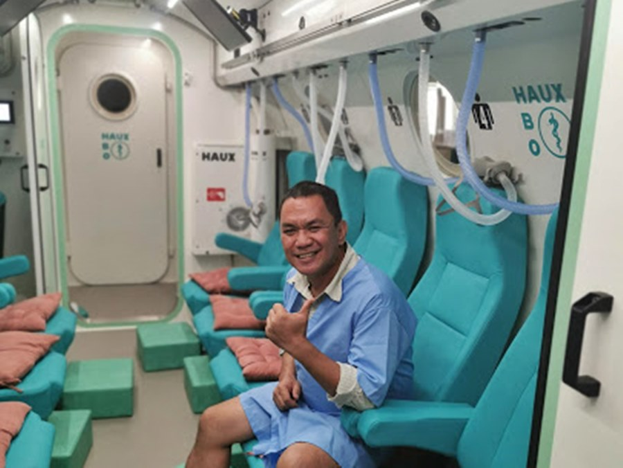 HYPERBARIC OXYGEN THERAPY [ HBOT ]   NEW IN BACOLOD CITY